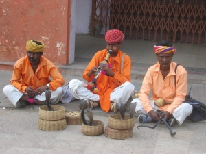 Snake Charmers in Jaipur City