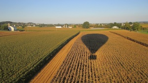 Balloon Flight over Lancaster County, PA