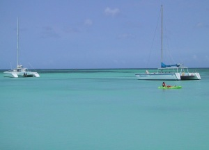 Beautiful Caribbean Waters in Aruba