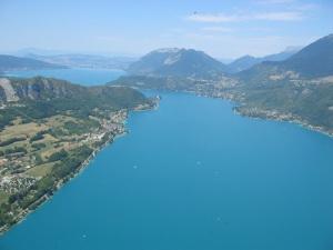 Paragliding from Col de la Forclaz