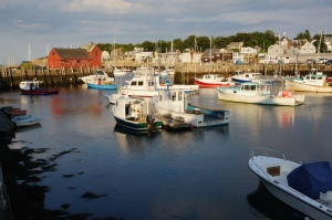 Sunset at Rockport, Massachusetts