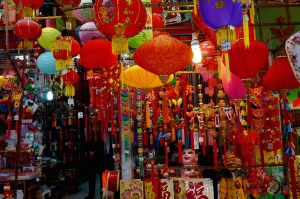 Lanterns in Soho, Hong Kong